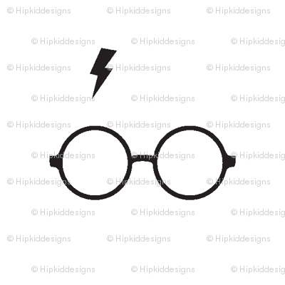 Wizard Glasses // White // Mini