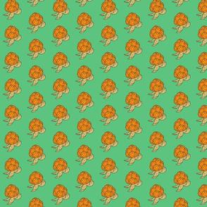 Edgy Cloudberry on greyish green 2
