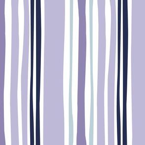 Wavy stripe in purple