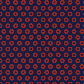 Fishman Donut Fabric, Dark Colors