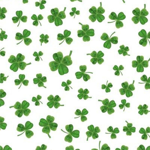 Saint Patricks Day Watercolor Clover St. Patricks Day