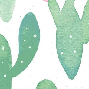Summer Cacti // White