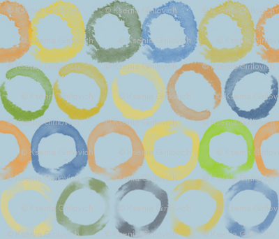 Circles_earth_colors_bluish_background_preview