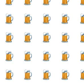 """beer mug 4"""" x 4"""""""