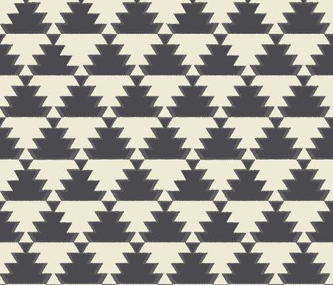 Kilim Geometric Rug fabric by mintedtulip on Spoonflower - custom fabric