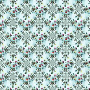 Fabric Bobbin Diamond Patch