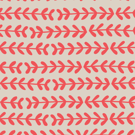 Red stems  fabric by gemmacosgroveball on Spoonflower - custom fabric