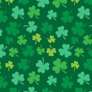 Saint Patrick's Day Green Clovers St. Patricks Day