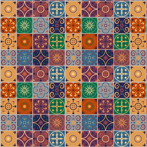 Spanish-Mexican tiles
