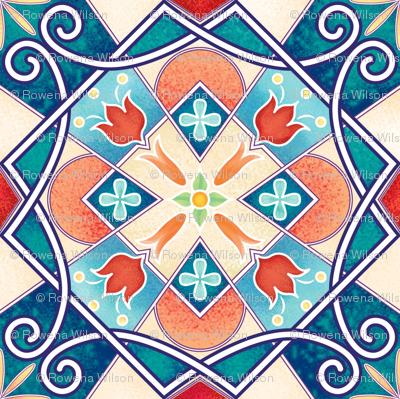 Rowena-Wilson-Spanish-Spring-Tile