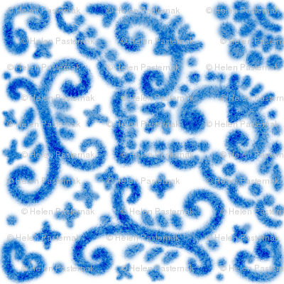 Spanish Tile N9 Cobalt