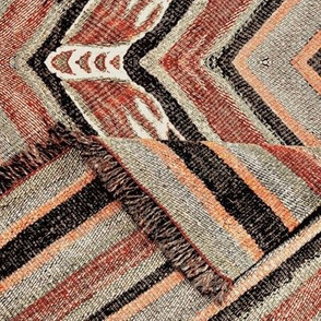 Antique Kilim Throw