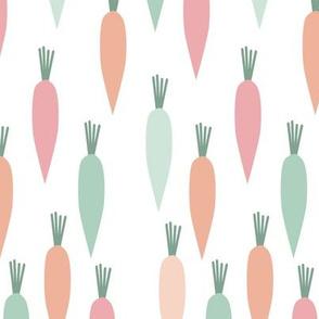 carrots - pastels