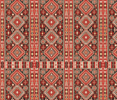 Antique Kilim Rug fabric by ampersand_designs on Spoonflower - custom fabric