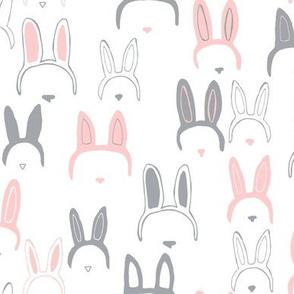 Bunny ears in pink