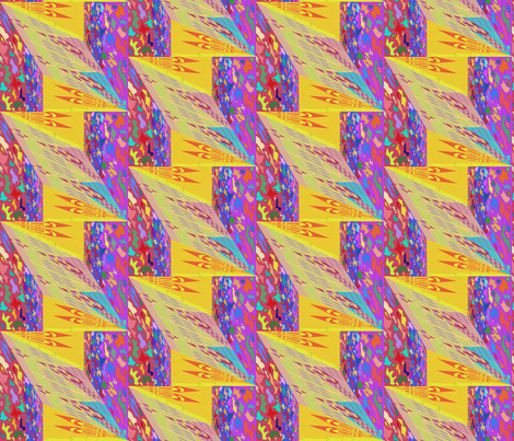 a fun Kilim design  fabric by designs_by_phyllis_lepore on Spoonflower - custom fabric