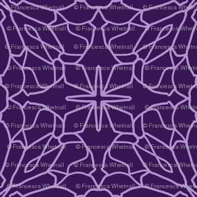 Geometric Lace - Ultra Violet