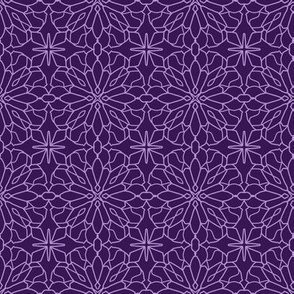 Geometric Lace - Ultra Violet