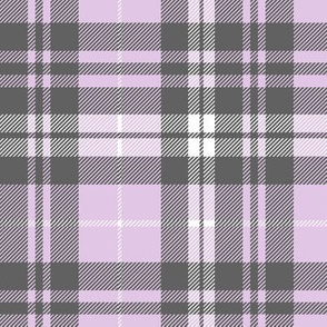 fall plaid - purple and grey - fearfully and wonderfully made
