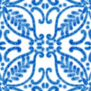 Spanish Tile N2 Cobalt