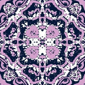 Navy-Orchid-White Fractal
