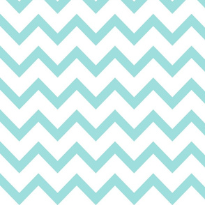christmas chevron light teal LG