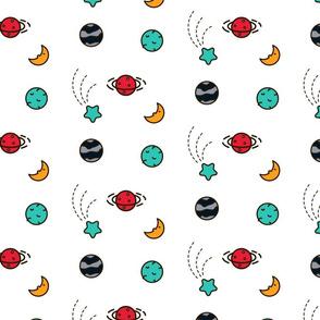 Planet parade pattern