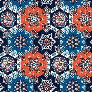 spanish tile pattern