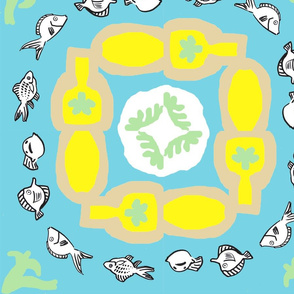 Fishes and bowls