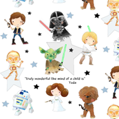 Nerdy Space Characters – Trendy Geek Fantasy Kids Room Bedding Sheets B
