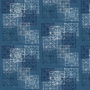 Denim - Tile Sketch
