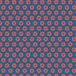 Fishman Donut Fabric - Identical  Dress  Color 1 INCH