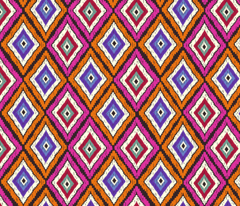Lulet's Kilim with Kindness - Summer fabric by lulet on Spoonflower - custom fabric