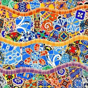 Spanish Tile Mosaics