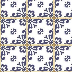 Guanajuato Inspiration -blue and white