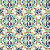 Spanish Tile : Wishbone