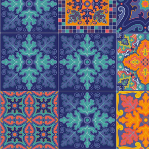 Spanish Tile Patchwork