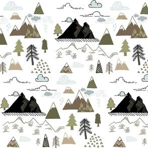 Mountain Doodles