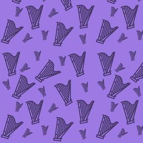 Harp Confetti Purple