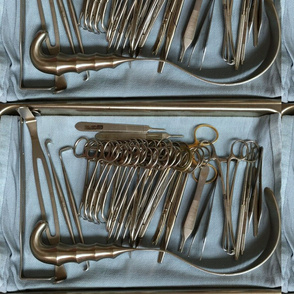 tray of instruments