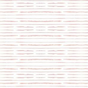 watercolor peach stripes