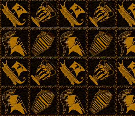 Greek Unique fabric by revolutionaryvision on Spoonflower - custom fabric