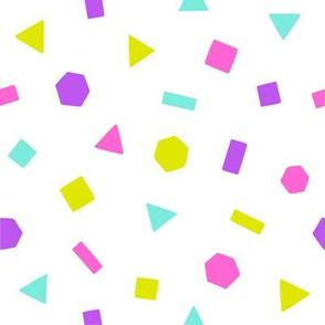 Bright geometric figures