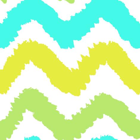 Bright paint texture chevron  fabric by kondratya on Spoonflower - custom fabric