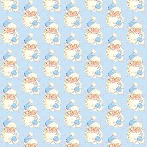 Hi Santa Baby Blue  size small