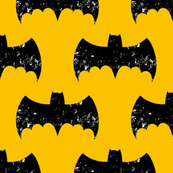 Bat Grunge Yellow/Gold