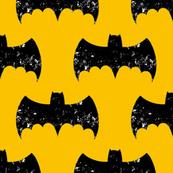 Bat Grunge Yellow/Gold