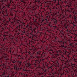 Stripes & dashes seamless geometric pattern
