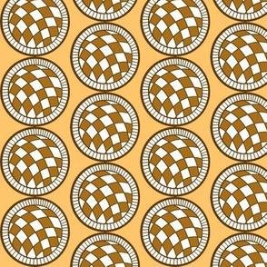Spanish Tile ball half drop