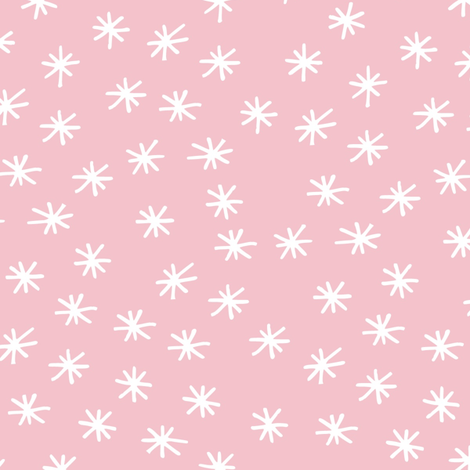 Pink Twinkle - Best Friends Coordinate for Girls GingerLous fabric by gingerlous on Spoonflower - custom fabric
